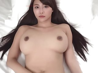 Japanese ASMR POV hardcore - big Asian boobs