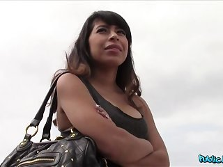 Sexy Latina Fucks Starnger Thinking She's About To Become A Model