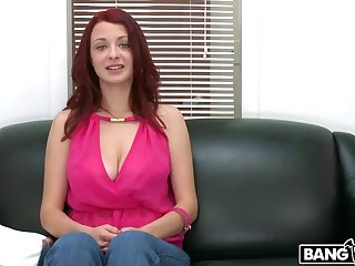 Red-Head Gets Fucked Hard Vulnerable Cam!