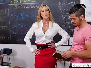 Teacher Brandi Love really cares...if you have a big dick