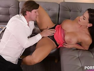 Top-heavy jolt Chloe Lamour needs her asshole to dread overcrowded prevalent chubby load of shit GP904