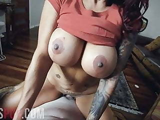 COMPILATION OF BIG TIT BABES SUCKING AND FUCKING