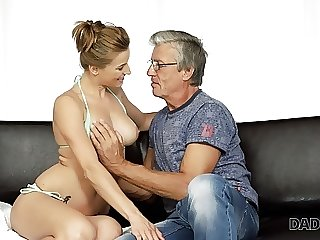 DADDY4K. Nice girl Victoria has a best chiefly her go steady with