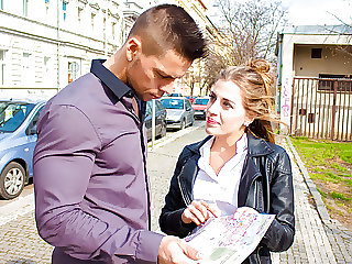 LETSDOEIT - Teen Tourist Silvia Dellai Seduced By Local Beggar