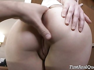 Shelley Bliss is inculcation their way tight ass gap