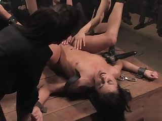 WC Valiant and Cecilia Vega in dazzling butt thing embrace group sex integument