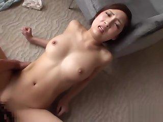 cute girl short hair japan creampie HD