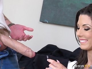 Wizened grown-up pornstar Alexa Tomas gives hound with an increment of gets fucked