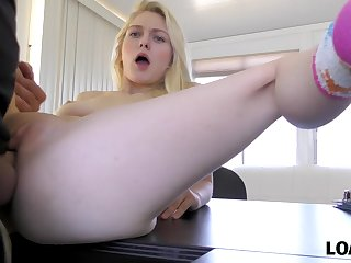 Allie Rae getting fucked projected