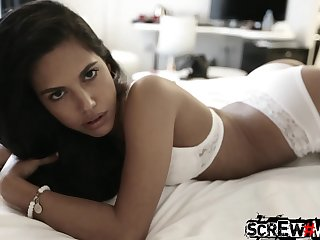 Emotional Filipina nympho with sexy ass Samantha Attached is attainable for hard doggy