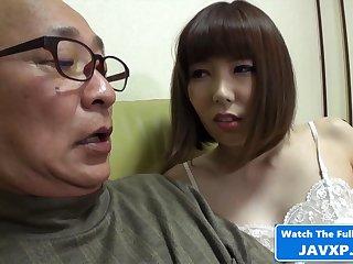 Japanese MILF Tune Horny For Grandpa
